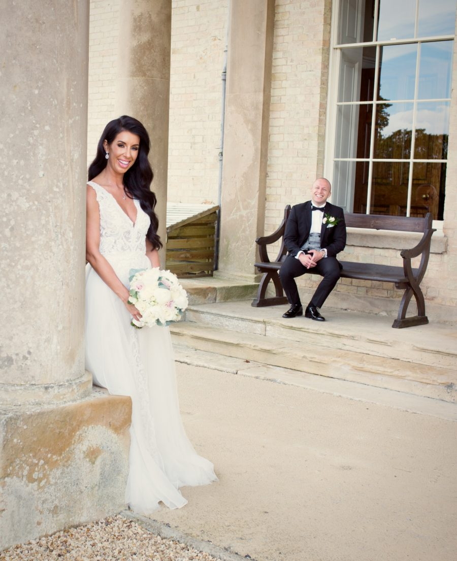 Wedding photograph for Alexandra & Adam