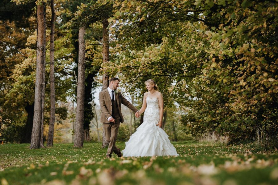 Wedding photograph for Aynslie & Hugh