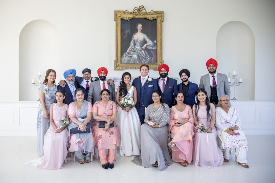 Wedding photograph for Kulpreet & Ed