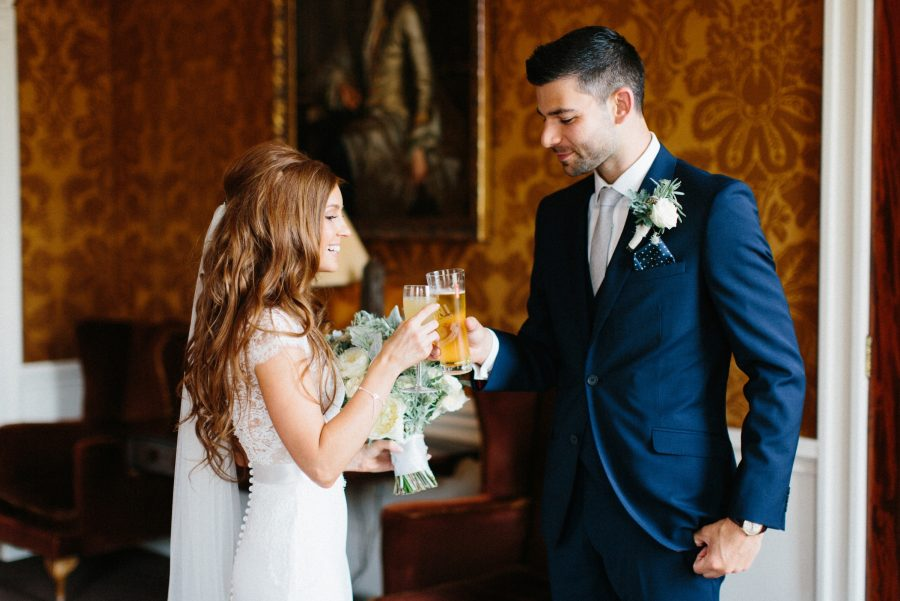 Wedding photograph for Kimberley & Scott