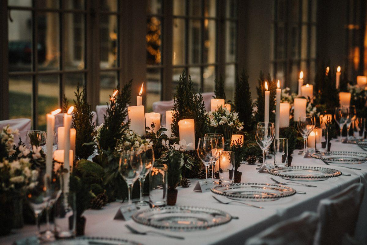 Christmas Wedding.Exclusive Wedding Venue Lincolnshire Stubton Hall